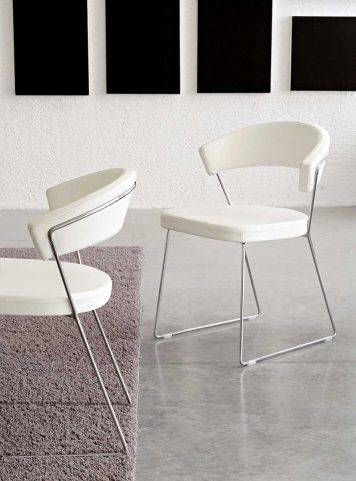 Chaise New York par calligaris cb/1022-lh