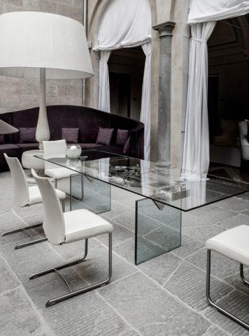 Extendable table Quasar by Naos