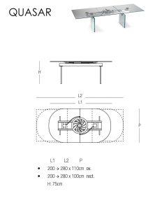 Quasar table