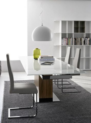 Table Park glass par Calligaris