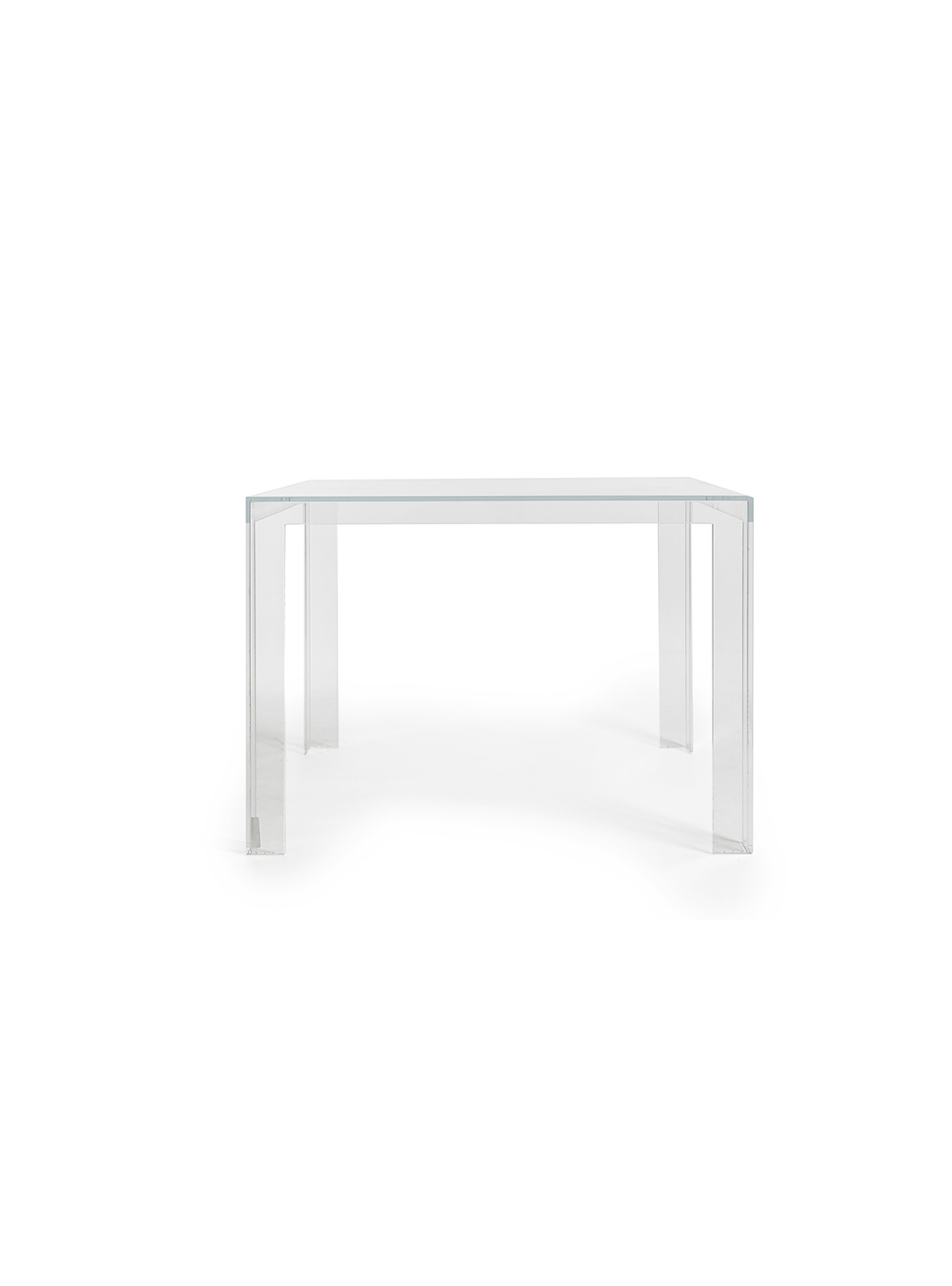 Invisible table mariette clermont for Miroir kartell soldes