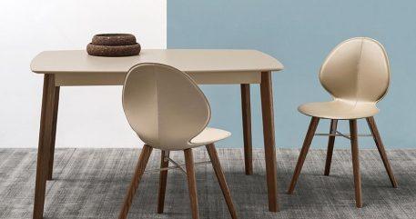 Table Cream par Calligaris
