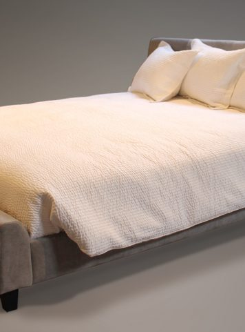 SANDTON - LIT REMBOURRÉ SANDTON - UPHOLSTERED BED