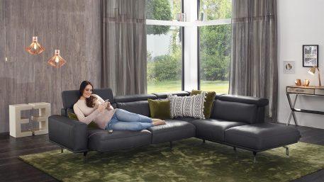 Amante canapé sectionnel