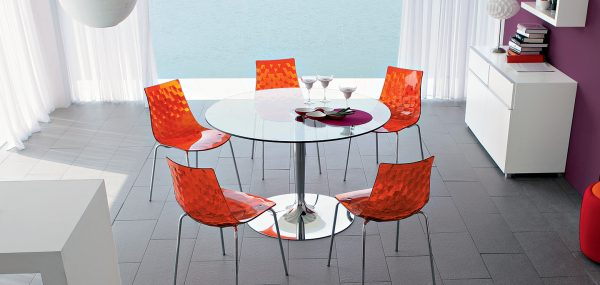 Planet table ronde