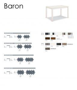 Baron fiche technique