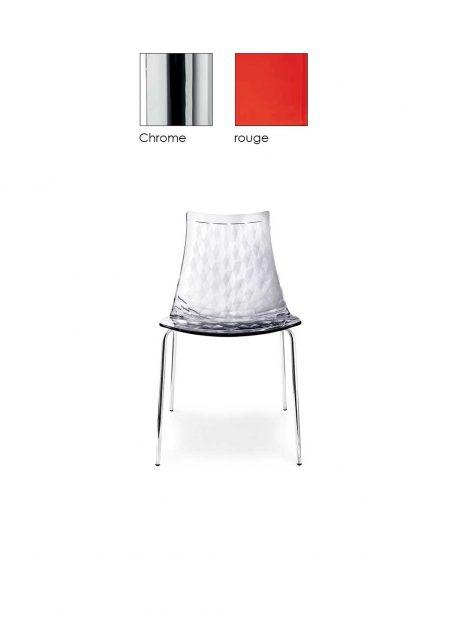 Chaise Ice par Connubia