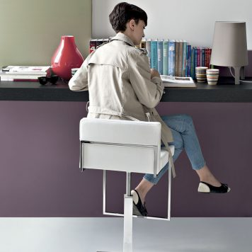 Tabouret Even Plus par Calligaris