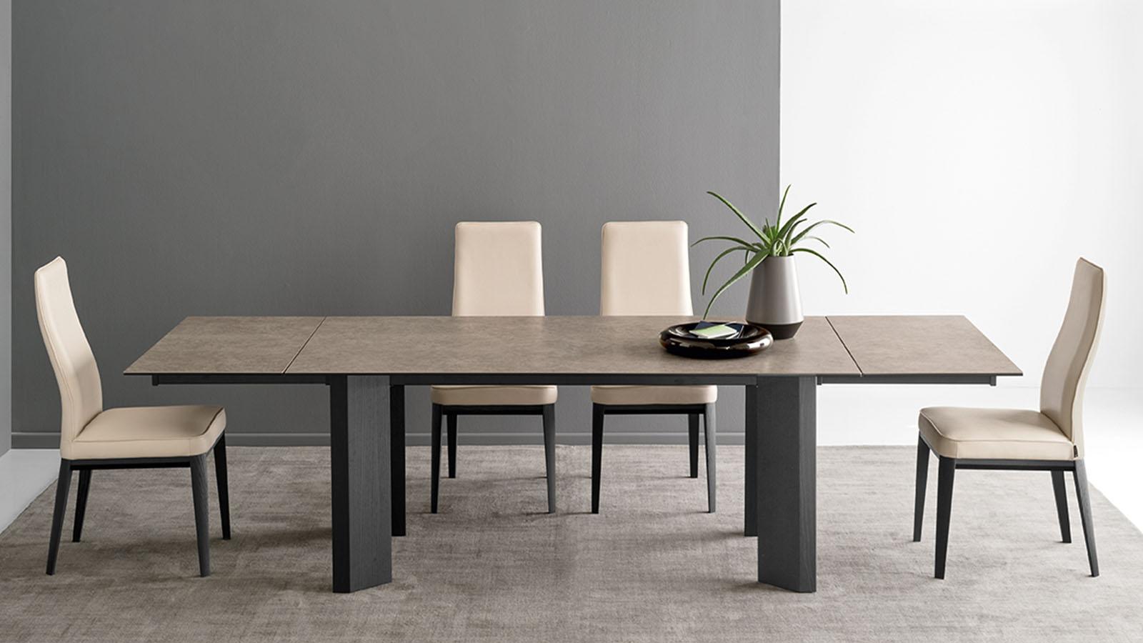 margot chaise calligaris cs 1861 lh mariette clermont. Black Bedroom Furniture Sets. Home Design Ideas