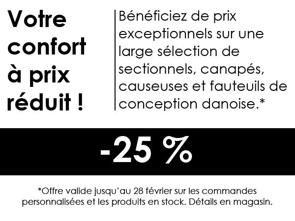 Économies -25%