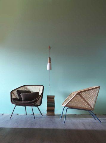 Colony armchair by Miniform