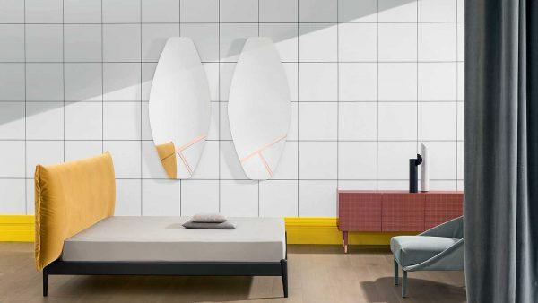 Miroir Palmiro par Miniforms