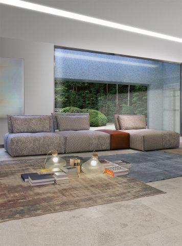 Tango modular sofa by Giuseppe & Giuseppe