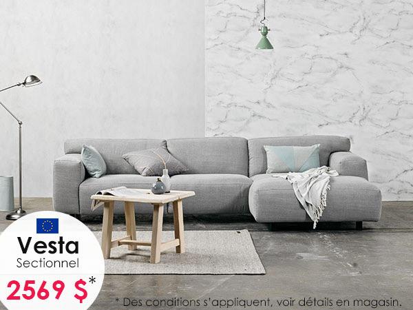 Vesta hombre silver – Sectionnel