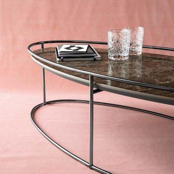 Table d'appoint Atollo par Calligaris
