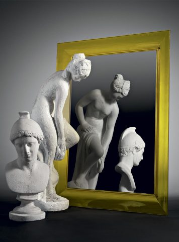 François Ghost mirror by Kartell