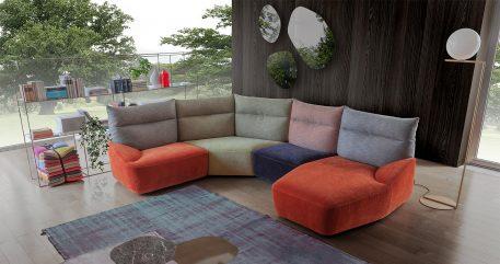Eliseo modular sofa
