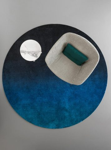 Sky rug by Calligaris