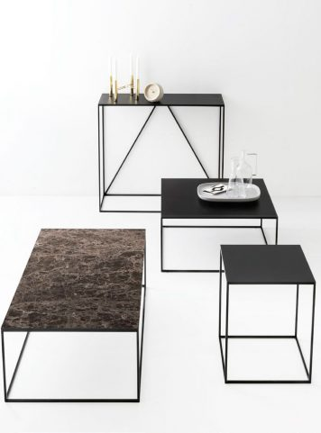 Thin console table by Calligaris