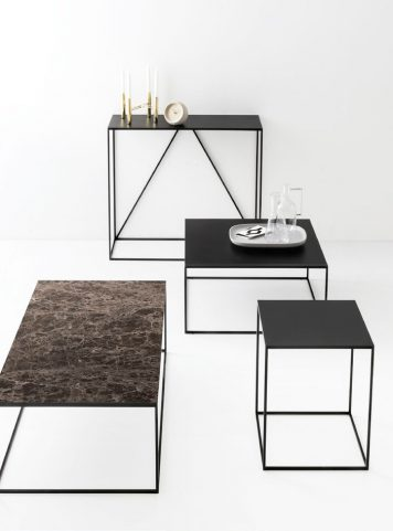 Table d'appoint Thin par Calligaris