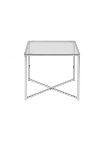 Cross end table by Actona