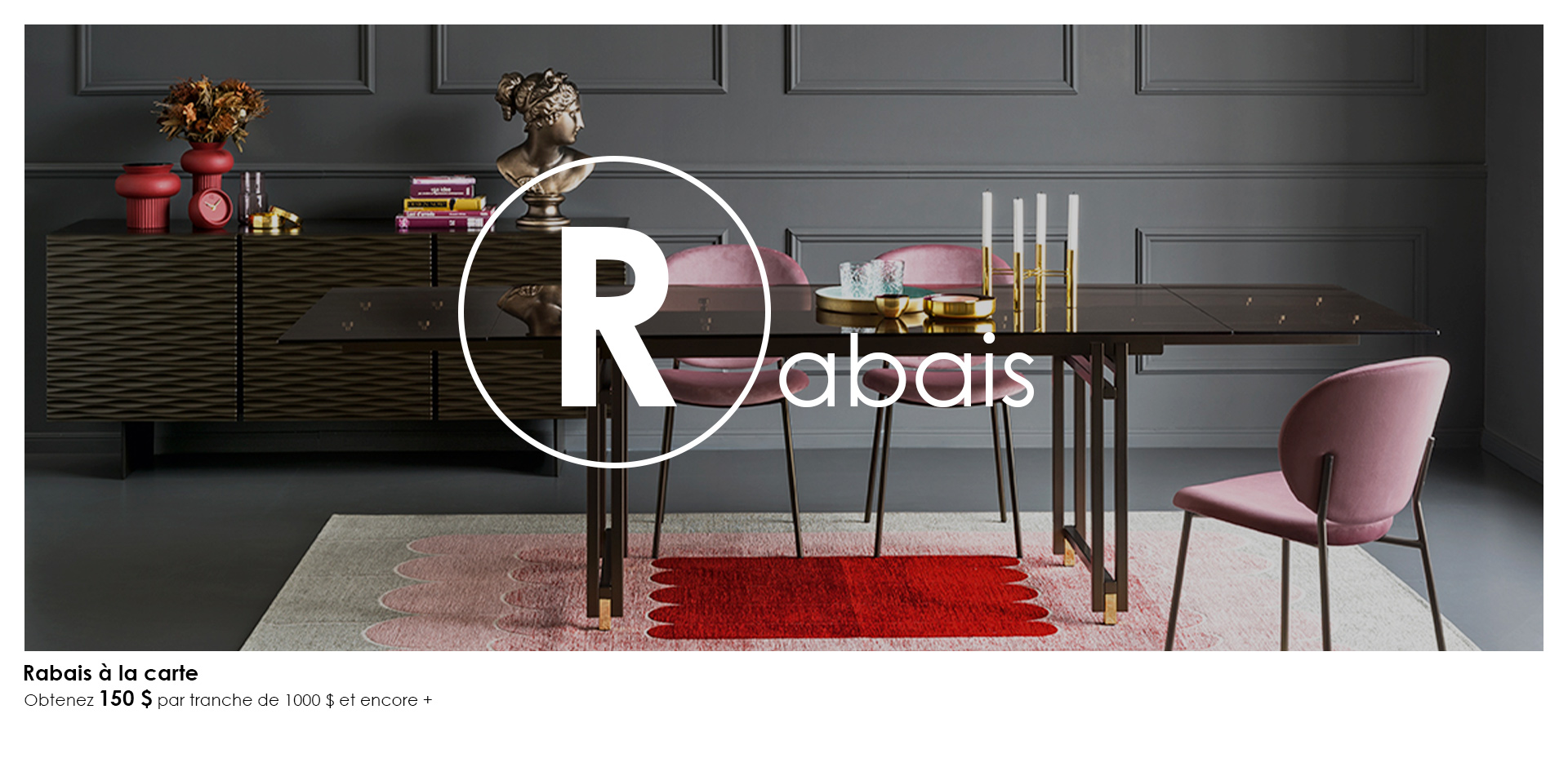 Table Berlin - Rabais à la carte