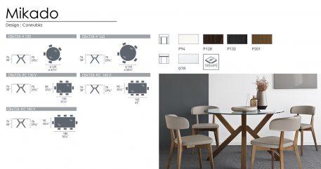 Mikado technical sheet