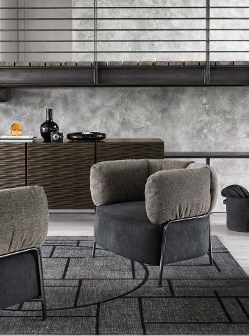 Quadrotta Armchair by Calligaris