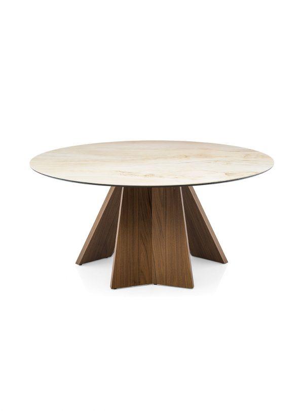 Table ronde Icaro par Calligaris