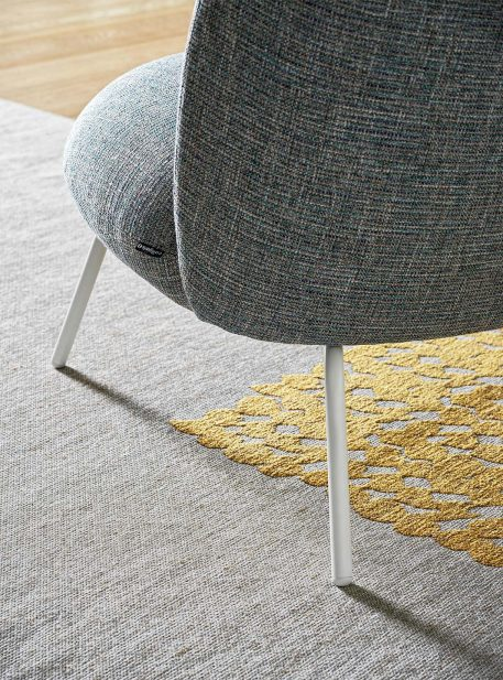 Puffy armchair by Calligaris