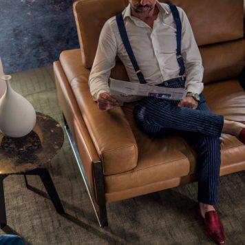 Romeo relax sofa by Calia Italia - Mariette Clermont