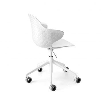 chaise Saint Tropez avec roulettes par calligaris-Mariette Clermont