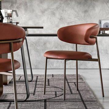Chaise Oleandro par Calligaris - Mariette Clermont meubles et objets laval